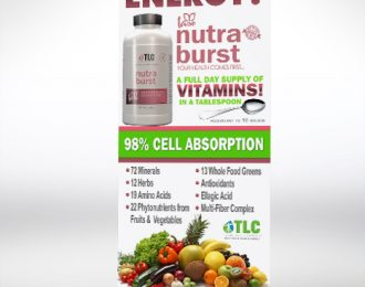 Nutraburst Retractable banner