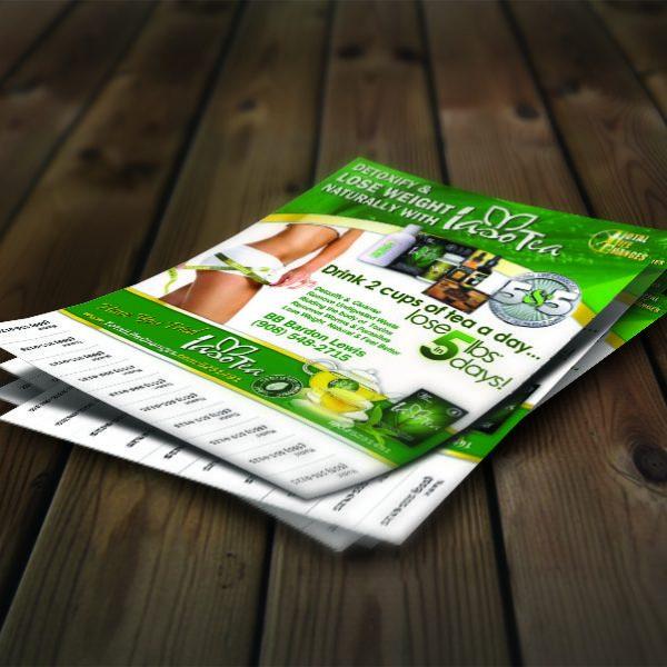 pull tab flyer