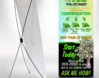 TLC Compensation XFrame Stand