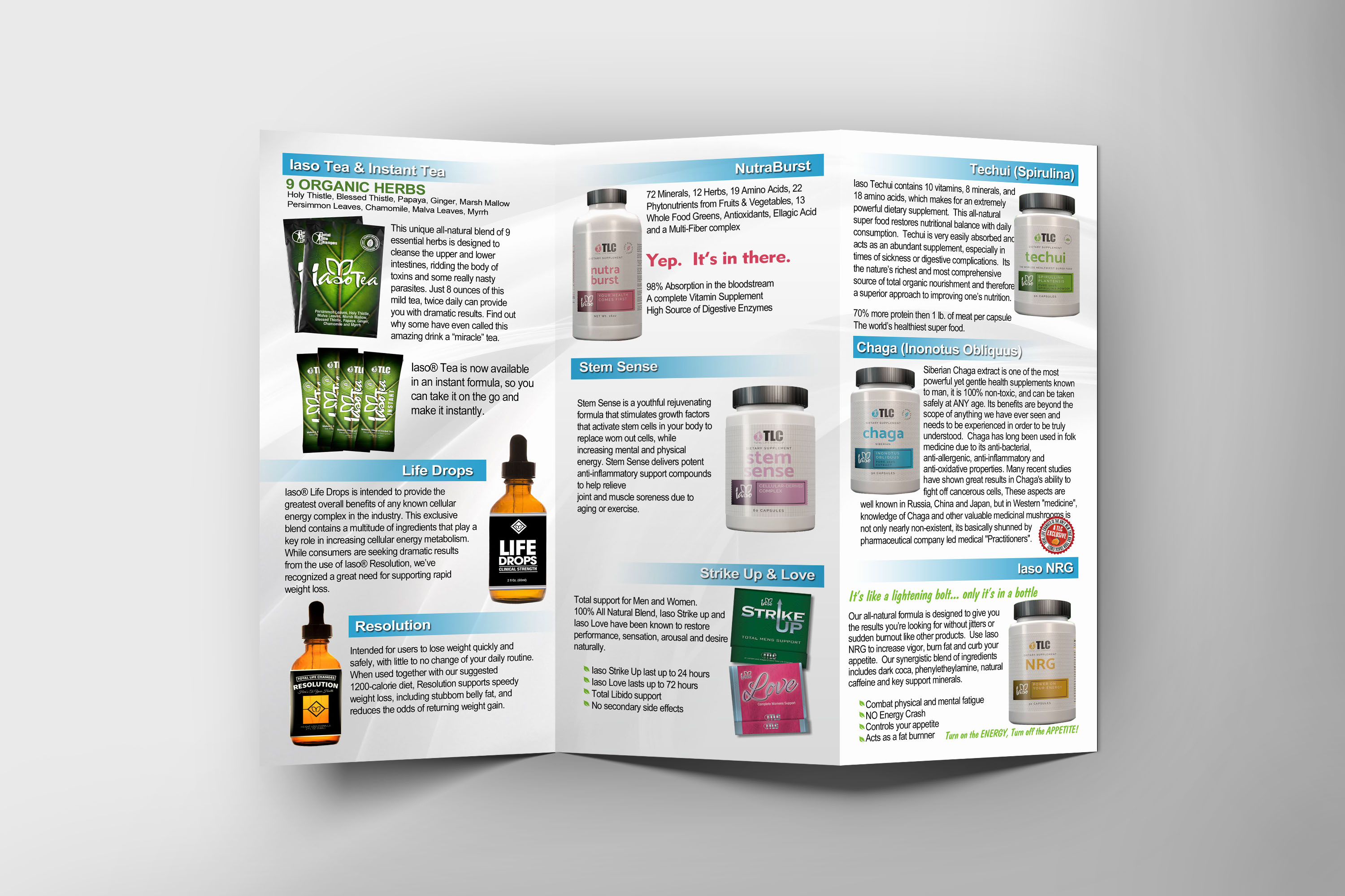 Tlc Trifold Product Brochures Corral Designs