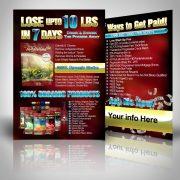 Lose upto 10 lbs in 7 Days Vida Divina Postcards