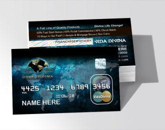 Vida Divina Credit Card Style