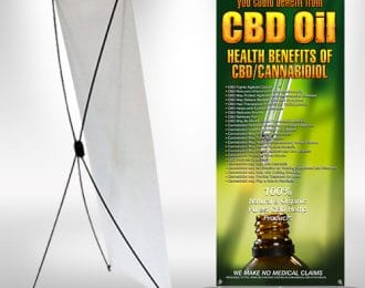 X-frame Banner CBD Benefits