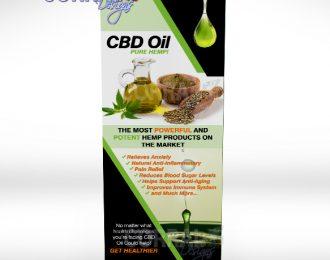 CBD Pure Hemp Premium Banner