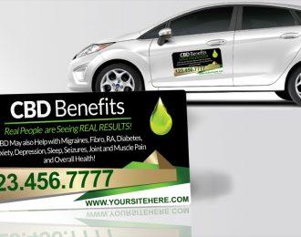 CBD Benefits Gold Green