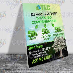TLC Table Top Compensation
