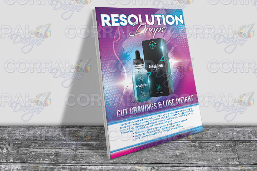 Total Life Changes TLC Resolution Drops Table Top