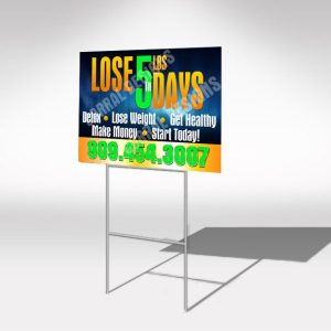 Total Life Changes 5N5 yard sign