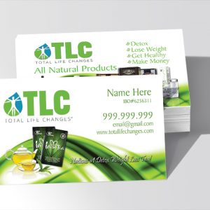 Total Life Changes Business Card