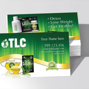 Total life change business cards