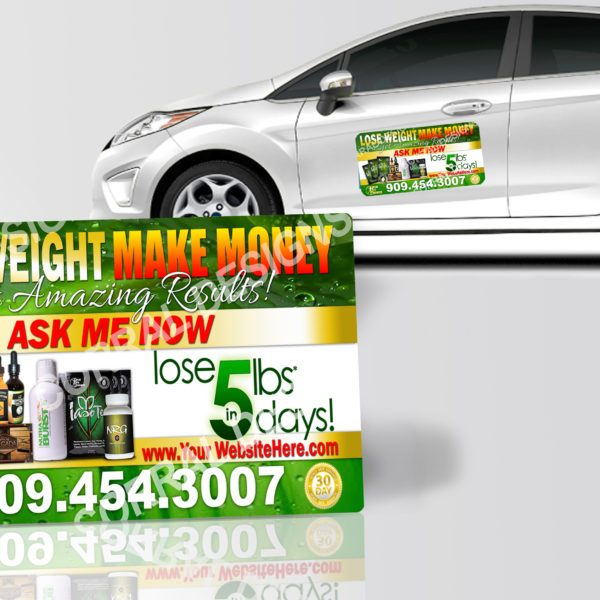 TLC Car Magnets