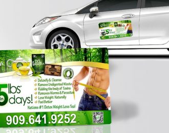 TLC Car Magnet Iaso Tea Male Jeans