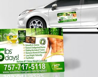 TLC Car Magnets Iaso Tea Male