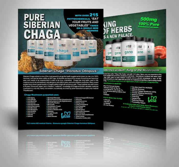 Chaga and Gano Postcards
