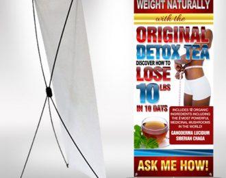Original Detox Tea XFrame Stand