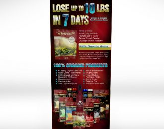 Lose 10 lbs in 7 Days Premium Banner