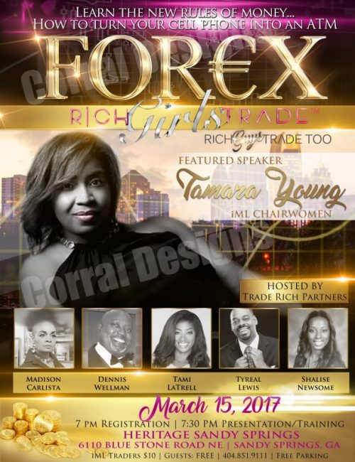IML Forex Event Flyers