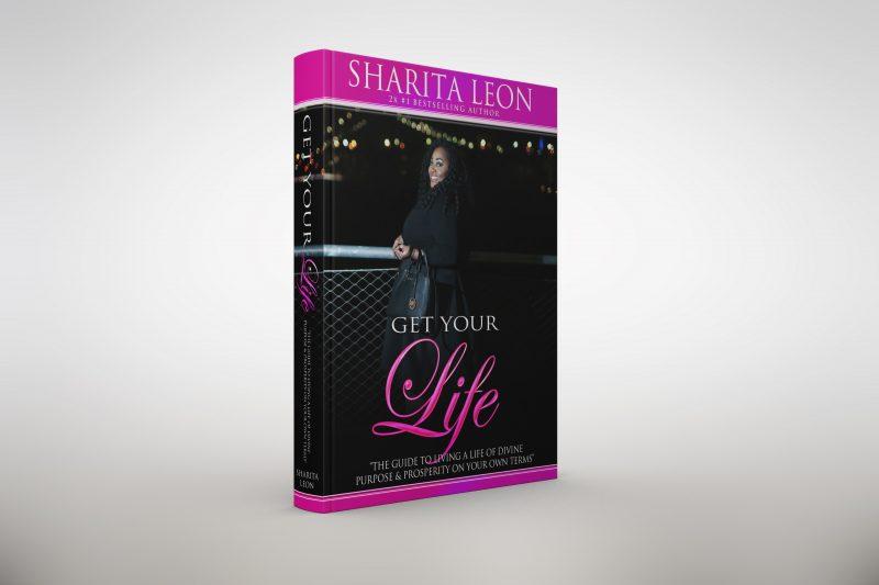 Sharita Leon Get your Life Book Mockup