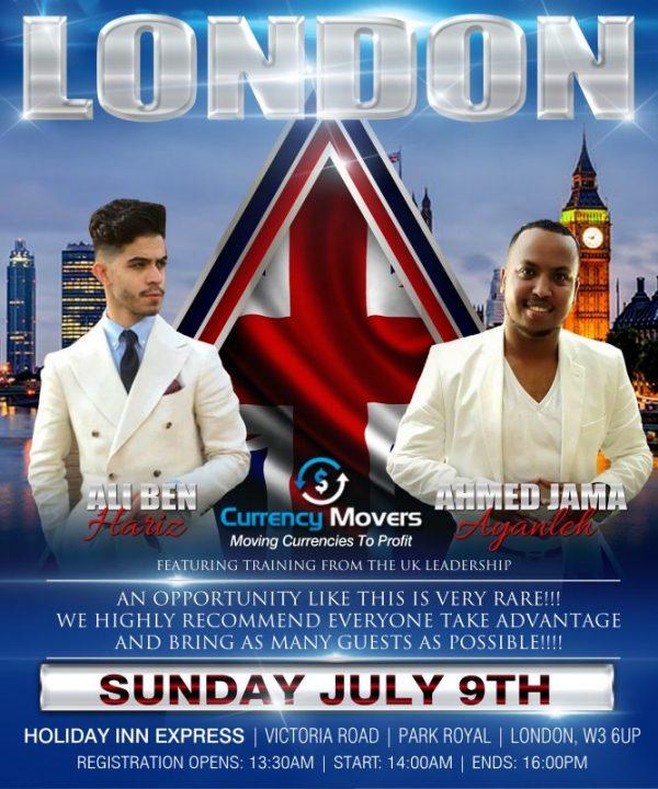 London AhmedI Event