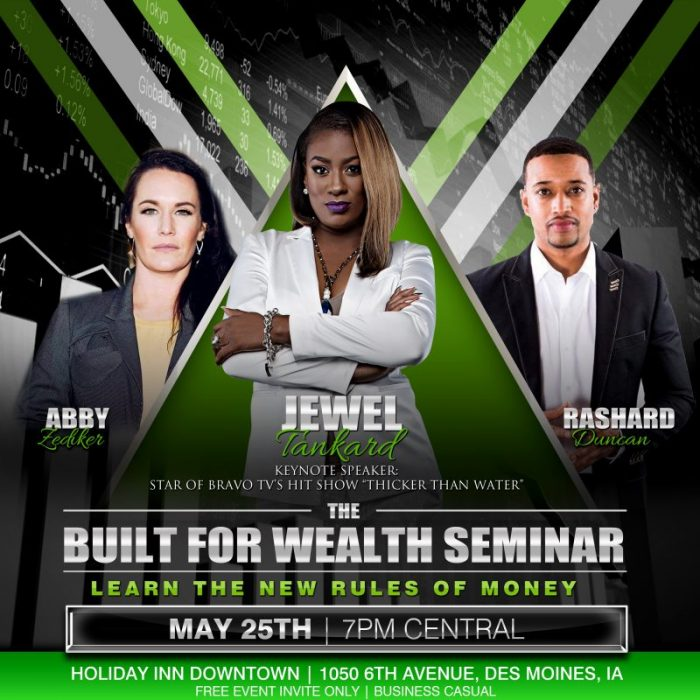 The Built For Wealth Seminar Event