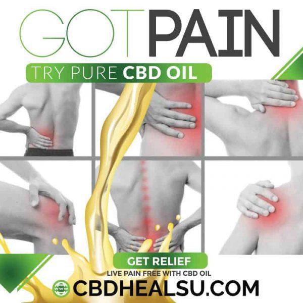 Got-Pain CBD Oil Social Media Banners