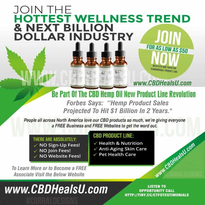 CBD Heals U Social Media Banners