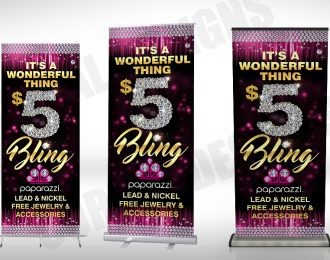Paparazzi $5 Bling Banners Stands