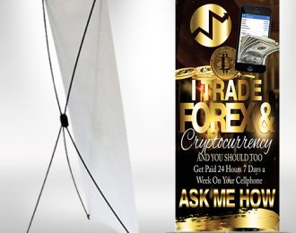 X-frame Banner IML I Trade