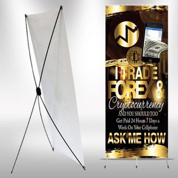 X-frame Banner IML I Trade – Corral Designs