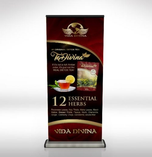 Vida Divina Retractable Banners