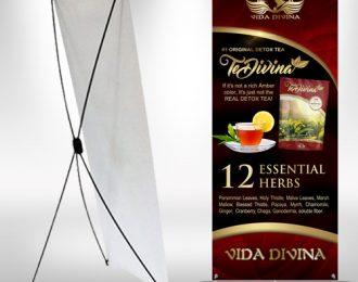 X-frame Banner Vida Divina TeDivina