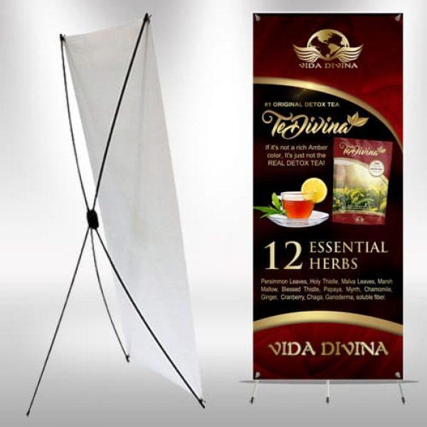Vida Divina TeDivina X-Frame Banner