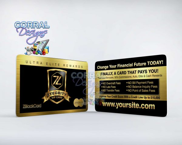 ZBlack Card Business Cards