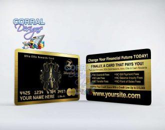 ZBlack Card 105