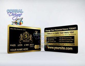 ZBlack Card 104