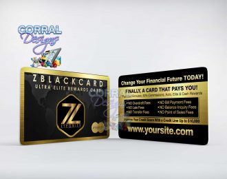 ZBlack Card 107