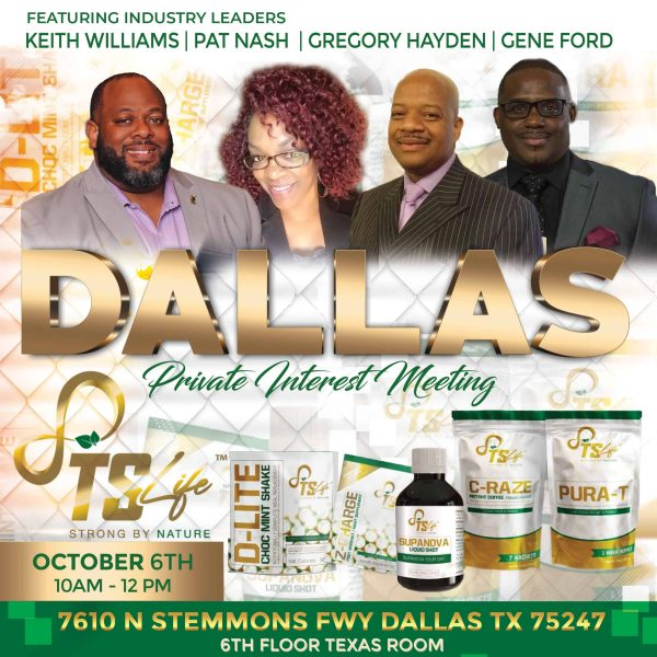 Private Interest Meeting Dallas TS Life Event