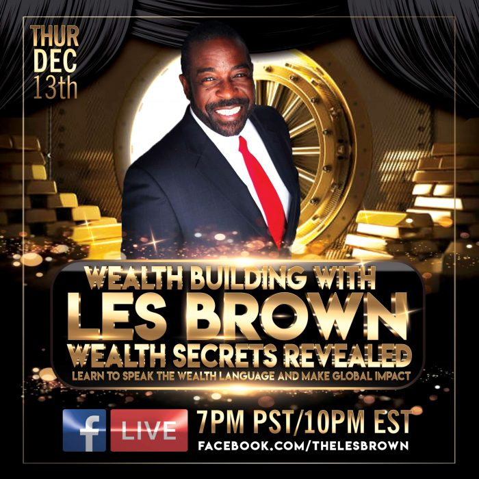 LES BROWN EVENT