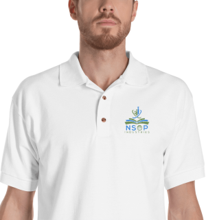 NSOP Embroidered Men's Polo Shirt