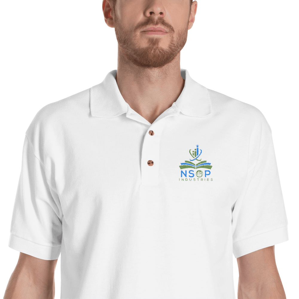 Nsop Embroidered Mens Polo Shirt Corral Designs