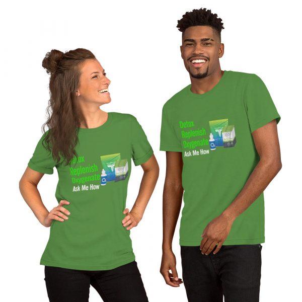 Detox Replenish Oxygenate Ask Me How Shirts