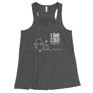 I Sell CBD Cannabidiol Women Shirts