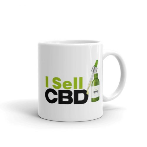 I Sell CBD Coffie Mugs