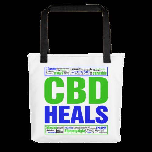 CBD Heals Tote Bag