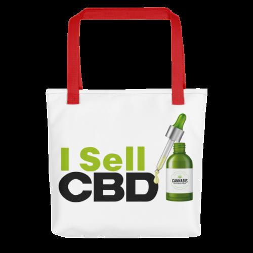 I Sell CBD Tote Bag