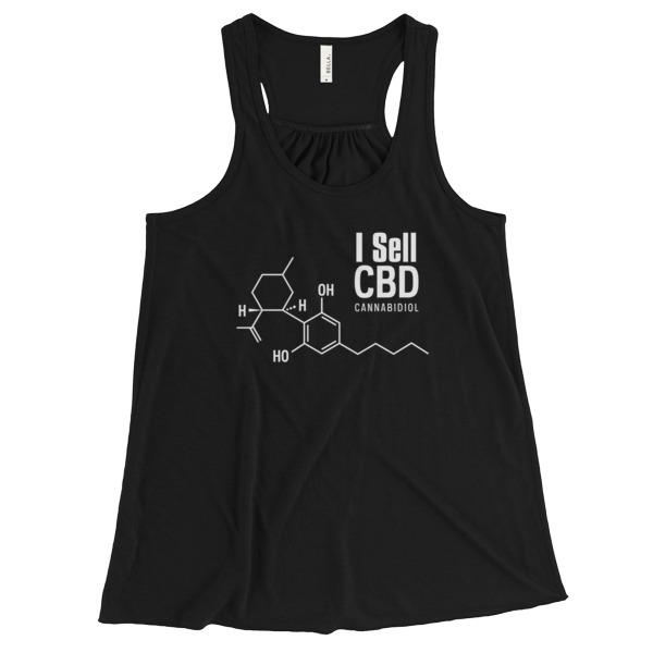 I Sell CBD Cannabidiol Women Shirts