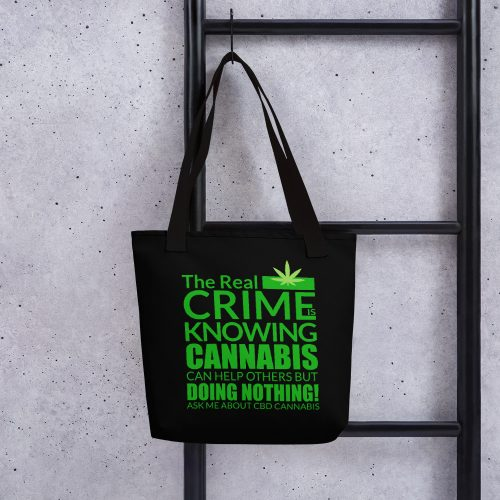 Cannabis CBD Tote Bag