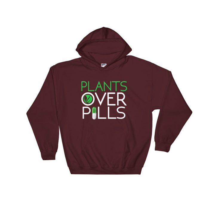 Plants Over Pills Sweatshirt
