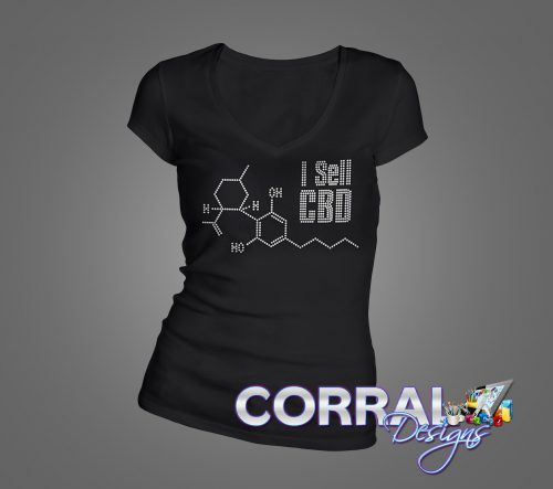 I Sell CBD Bling Shirt
