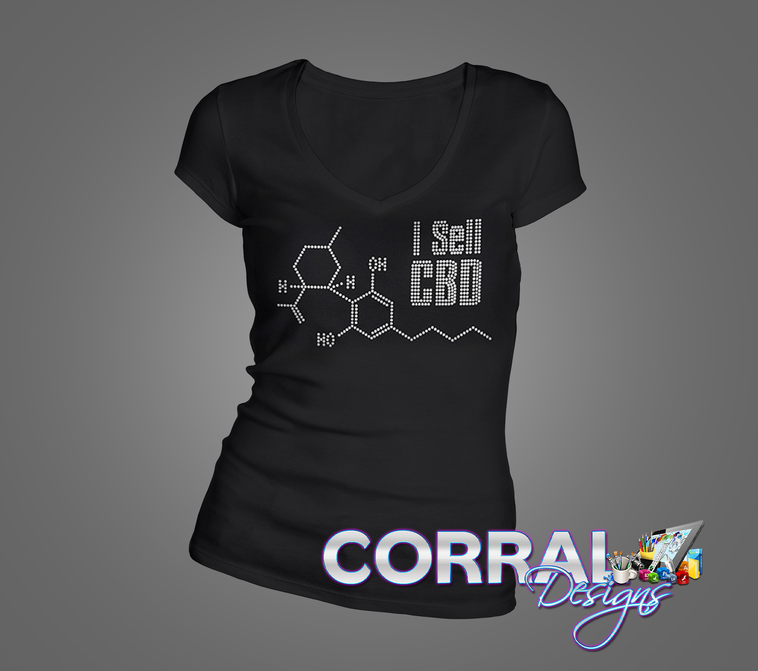I Sell CBD Bling Shirt